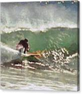 Wave Runner  Canvas Print