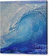Wave Study Canvas Print