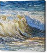 Wave2 Canvas Print