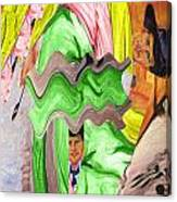 Wavering Canvas Print