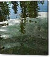 Wavering Reflections Canvas Print