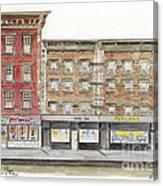 Waverly Diner In Greenwich Village Canvas Print