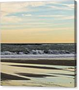 Waves At Old Orchard Canvas Print