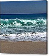 Waves Of Happiness  Canvas Print