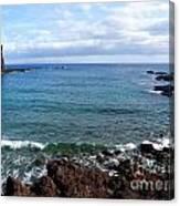 Waves Of Hawaii Canvas Print
