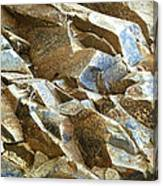 Waves Of Rock Canvas Print