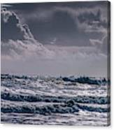 Waves, Reynisfjara, South Coast, Iceland Canvas Print