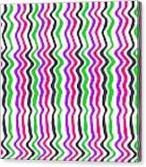 Wavy Stripe Canvas Print