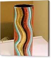 Wavy Vase Canvas Print