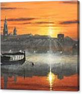 Wawel Sunrise Krakow Canvas Print