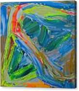 Le Chemin De La Vie Canvas Print