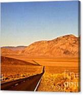 Way Open Road Canvas Print