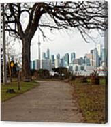 Way To Downtown Canvas Print