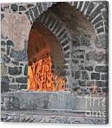 Way To The Fireplace Canvas Print