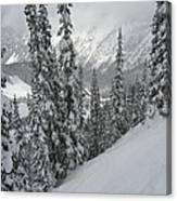 Way Up On The Mountain Canvas Print