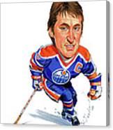 Wayne Gretzky Canvas Print