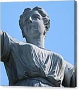 Waynesburg University Statue Canvas Print