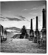 Waynesville Green Hill Cemetery Canvas Print