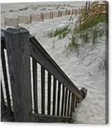 Ways To The Beach Series 4 Canvas Print