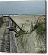 Ways To The Beach Series 5 Canvas Print