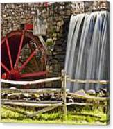 Wayside Grist Mill 4 Canvas Print