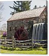 Wayside Grist Mill 5 Canvas Print