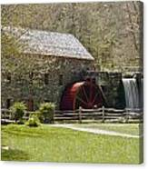Wayside Grist Mill 6 Canvas Print