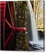Wayside Grist Mill Canvas Print