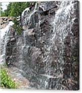 Wayside Waterfall - Acadia Np Canvas Print
