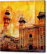 Wazir Khan Mosque Canvas Print