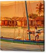 We Be Sailing Canvas Print