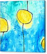 We Make A Family - Abstract Art By Sharon Cummings Canvas Print