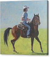 We Save Horses Three Canvas Print