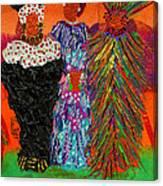 We Women Folk Canvas Print
