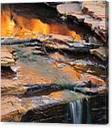 Weano Gorge - Karijini Np 2am-111671 Canvas Print