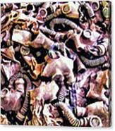Weaponized Canvas Print
