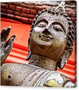 Wear-and-tear Buddha Canvas Print