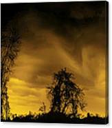 Weather Warning Canvas Print