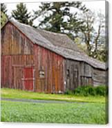 Weathered Barn 2 Canvas Print