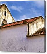 Weathered Barn Of Medieval Europe Canvas Print