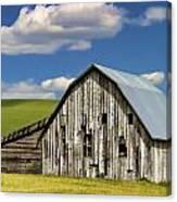 Weathered Barn Palouse Canvas Print