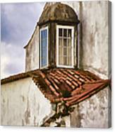 Weathered Building Of Medieval Europe Canvas Print