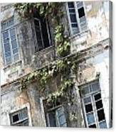 Weathered Building Canvas Print
