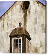 Weathered Home Of Old World Europe Canvas Print