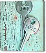 Weathered Love Canvas Print