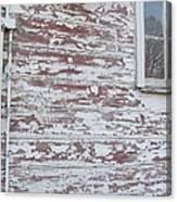 Weathered North Barn Lower Window Canvas Print