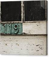 Weathered Old Door Canvas Print