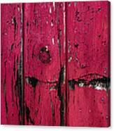 Weathered Red Canvas Print