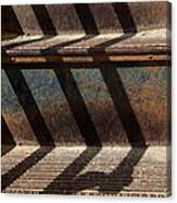 Weathered Stairs Canvas Print