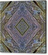 Weathered Wood Tiled IIi Canvas Print